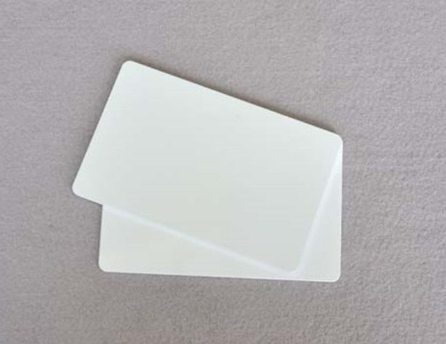 Asset Management RFID PVC Card Long Reading Range For Logistic / Vehicle / ETC