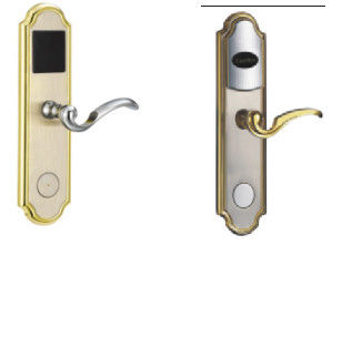 Zinc Alloy Electronic Hotel Locks  B Range Lock Cylinder With Inner Curve Handle